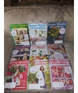 9 Better Homes & Gardens Magazines 2019 2020 Life In Color Food Christma... - $22.96
