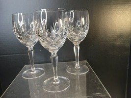 """Gorham Crystal  Lady Anne Water Goblet  7 5/8"""" - Lot Of 3 - $90.00"""