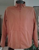 Cole Haan City Jacket Men's Orange Pumpkin Paprika Size Large Coat Zippe... - $37.39