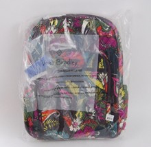 NWT! Vera Bradley Campus Tech Backpack  IN AUTUMN LEAVES - TROLLEY SLEEVE