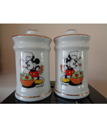 Mickey Mouse the Chef Salt and Pepper Shaker Set New - $24.99