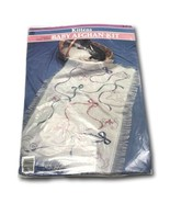 Kitten Counted Cross Stitch Baby Afghan Quilt Kit 29 x 45 - $28.99