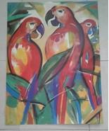 Authentic Alfred Gockel Parrot  1980's Art Print  Germany - $100.00