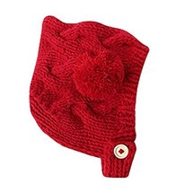 Newborn Baby Warm Hat Cap Baby Hat RED, 3-18 Months