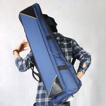 Slap-up Fashionable Fabric Tenor Trombone Bag Sapphire Blue - $28.00