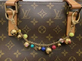 AUTH LOUIS VUITTON BAG CHARM KEY RING PASTILLES gift - $624.78