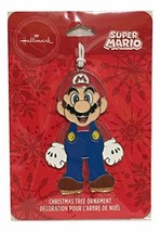 Super Mario Hallmark Christmas Tree Figurine Ornament - $24.20