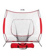 Galileo Baseball Softball Practice Net Practice Hitting Pitching Basebal... - $64.87