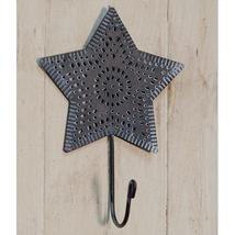 Punched Metal Star Wall Mount Hook - $25.00