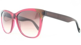 New Bottega Veneta BV 265S 4CP JS Transparent Red & Brown Sunglasses - $94.80