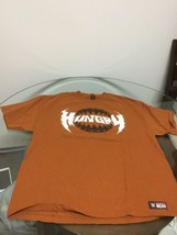 WWE Wrestling RYBACK Hungry Feed Me More Orange T-Shirt 2XL Good Condition - $12.86
