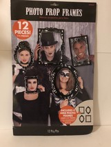 Brand New Photo Prop Frames 12 Pieces Different Sizes Models Party Hallo... - €6,91 EUR
