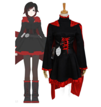 RWBY Red Trailer Ruby Cosplay Costume Outfit Uniform Anime Halloween Dress - $61.99+