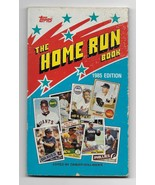 1985 Topps The Home Run Book Paperback Book Zander Hollander - $4.95