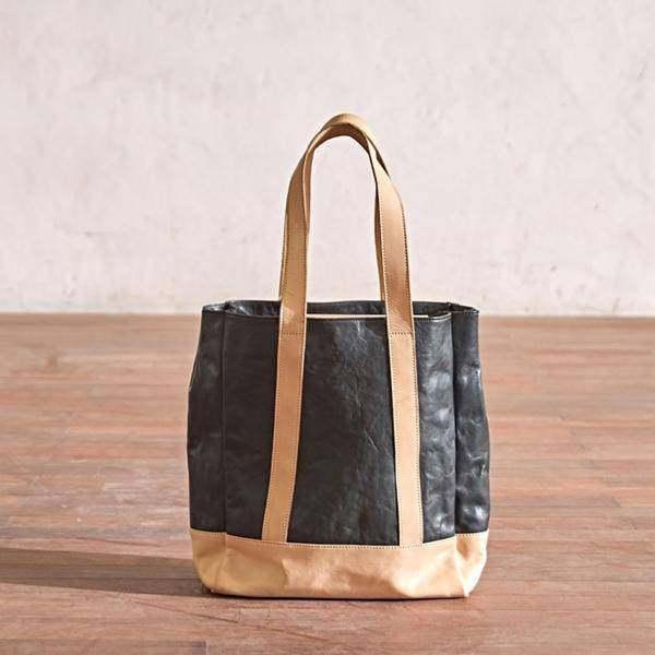 On Sale, Full Grain Leather Bag, Tote Bag, Large Shoulder Bag, Shopping Bag image 4
