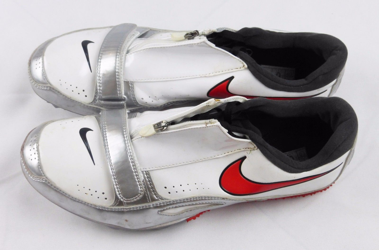 5cffd6c7dfcc1 Nike mens 9 track field spike cleats zoom rival brother 2 white shoes 502620