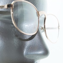 Women's Gold Metal Wire Frame Oval Classic Simple Reading Glasses +1.00 ... - $14.97