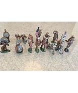 Vintage (40's) Barclay & Manoil Metal Military Figures - $140.25
