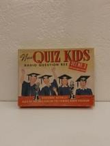 Vintage 1945 New Quiz Kids Radio Question Bee Game Set No. 3 COMPLETE - $9.50