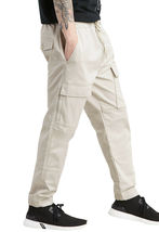 Levi's Men's Stretch Cargo Pockets Utility Pants Casual Drawstring Joggers image 8