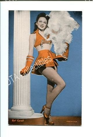 Primary image for PIN-UP GIRL-ARCADE CARD-1940-WOMAN IN BAND UNIFORM VG