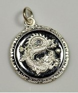 COOL Chinese Dragon Zodiac Pendant ARIES Sterling Silver .925 charm Jewe... - $27.41