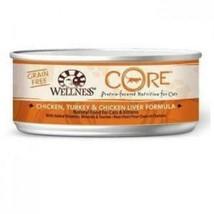 Wellness CORE Grain-Free Chicken, Turkey & Chicken Liver Formula Canned Cat Food - $39.99+