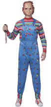 Chucky Costume Child's Play Adult Halloween Costume - £35.32 GBP