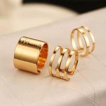 VKME 3Pcs. / Set. Fashion Top Of Finger Over The Midi Tip Finger Above T... - $10.73