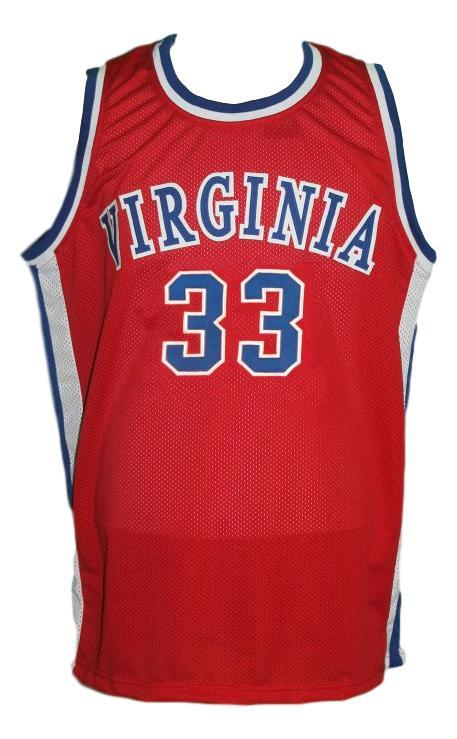 Charlie scott  33 virginia squires aba basketball jersey red   1