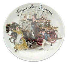 Ginger Beer Fountain Street Sellers of London John Finnie Plate CP1789 - $35.86