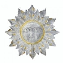 Shimmering Smiling Sun Wall Art - $59.95