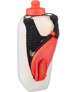 Nike Large Handheld Flask 20 oz Water Bottle With Hand Strap Pocket With... - $16.48