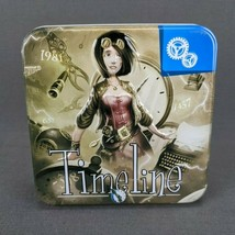 Timeline: Inventions Card Game by Asmodee in Tin New Open Box Sealed Cards - $19.30