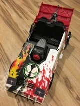McFarlane Spawn Mobile 1994 Car Vehicle Flames Chains Guns Rare Vintage ... - $18.25