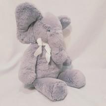 "Elephant Gray 16"" Plush Stuffed Animal Toy Sitting Up Pottery Barn Kids ... - $20.99"