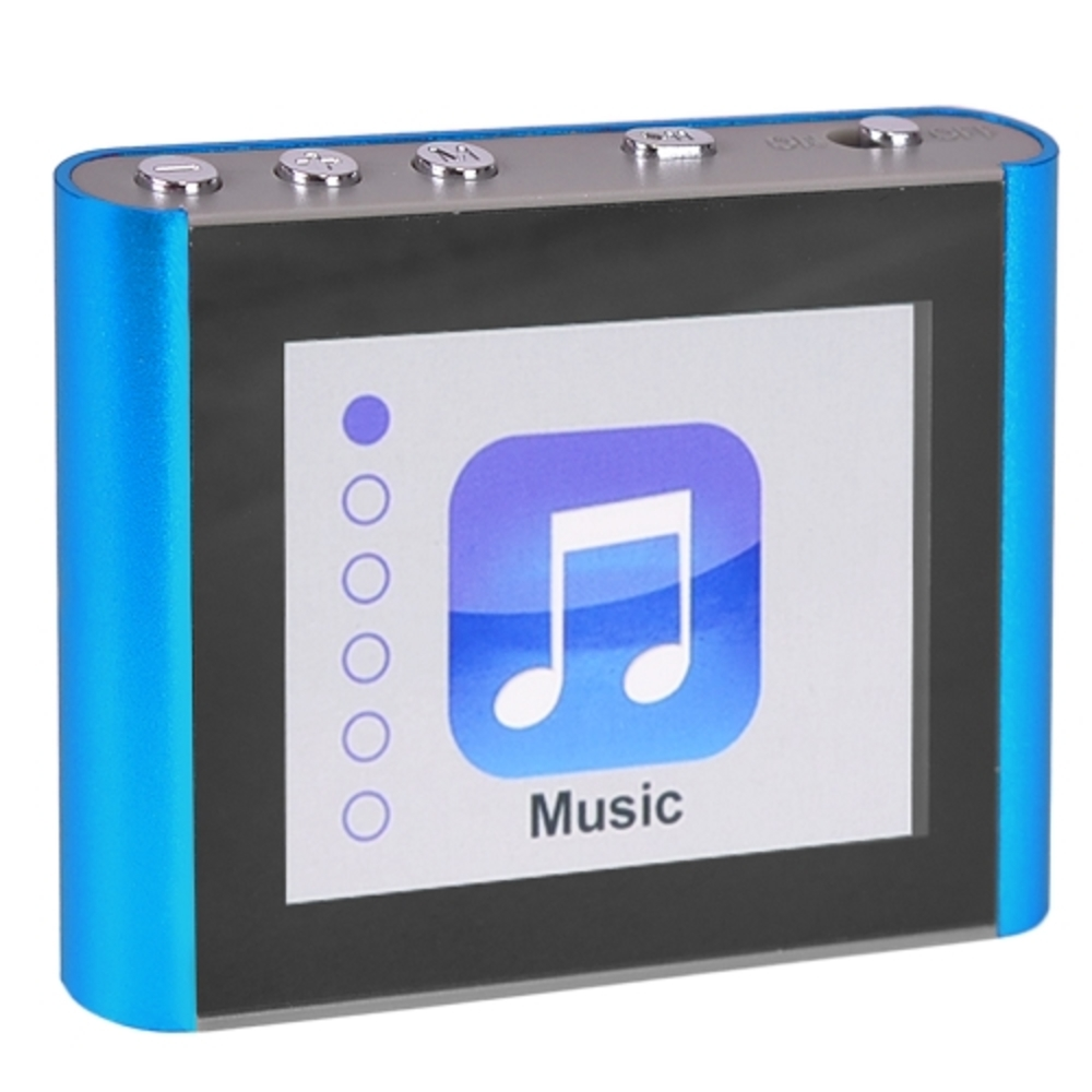 Eclipse Fit Clip Plus BL 8GB MP3 USB 2.0 Digital Music/Video Player w/1.8 LCD & for sale  USA