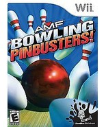 AMF Bowling: Pinbusters (Nintendo Wii, 2007) - $14.30