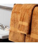 900 GSM 100% Cotton Rust 2 Bath Towels, 2 Hand Towels, 2 Washcloths Set  - $69.95