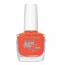 New Maybelline New York Nail Polish 460 Couture Orange 10 ml Free Shipping - $13.22