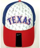 Texas Rangers MLB Men's Baseball Cap Hat Stretch Fit Red Blue Gray - $29.20