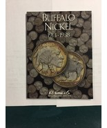 Harris & Co. Buffalo nickel book plus 8 buffalo nickels. on sale - $11.50