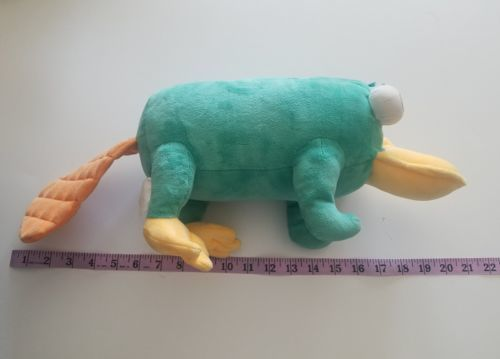 MC Perry the Platypus Disney Large Stuffed Plush Toy Phineas and Ferb Sounds