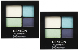 REVLON Colorstay 16 Hour Eye Shadow Quad, Inspired 540 (2-Pack) - $16.99
