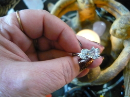 Haunted Angel Of The Astal Plain Ring Size 7 Witch Worn - $175.00