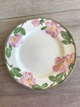 "Franciscan Desert Rose Dinner Plates Set 2 10 5/8"" Made in England 1995 image 3"