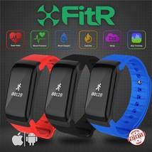 Fitr ™ Pressione Sanguigna Oxygen Cardiofrequenzimetro Orologio Smart Br... - $28.70