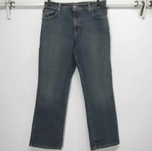 LEVI'S 550 WOMEN'S RELAXED BOOT CUT MEDIUM BLUE JEANS (10 S ) 30x29 HIGH... - $11.66