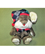 "VINTAGE 14"" LIL TWEAKS PLUSH CHRISTMAS MOUSE STUFFED ANIMAL TARGET DAYTO... - $34.65"