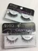 (2) Ardell 122/107 Black Glamour Fake Lashes Faux Eyelashes False Extension - $10.84